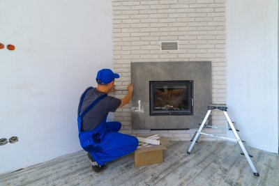 fireplace - installation